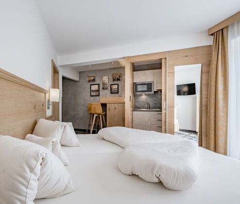 Residenz Allegra – Home comforts in large rooms and apartments